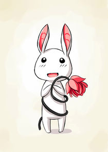 Bunny Flower von freeminds