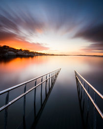 Ladder to the sea by Mikael Svensson