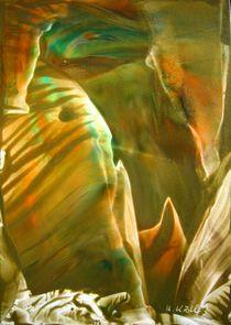 Lichtblick in eine Tropfsteinhöhle von Ulrike Kröll