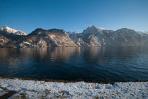 traunsee winter  by dayle ann  clavin