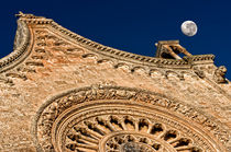 The cathedral and the moon von Giuseppe Maria Galasso