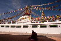 Boudha Stupa by Christian Behrens