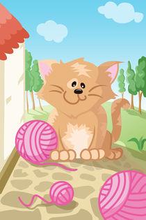 Katze aus dem Land der Drei von Michaela Heimlich