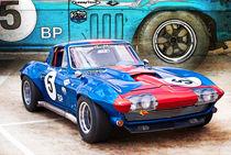1965 Corvette Front View by Stuart Row
