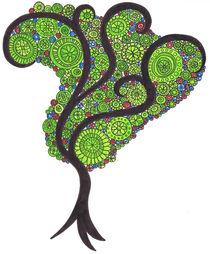 Spiral Tree by Tasha Goddard