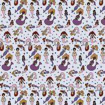 Mermaid Pattern by Tasha Goddard