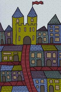 Castle Town by Tasha Goddard