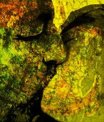 Graffiti Kiss von florin