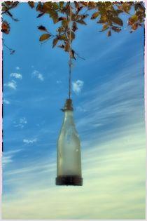 Flaschenlicht von Karola Warsinsky