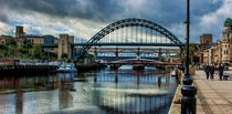 Along The Quayside  von tkphotography