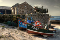 Fishing Boats at Sennen von Rob Hawkins