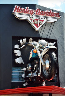 Harley Davidson Las Vegas Cafe by RicardMN Photography