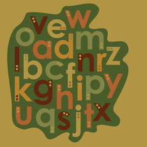 Autumn Alphabet by Tasha Goddard