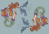 Identical Mermaids by Tasha Goddard