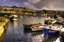 Fishing Boats at Brixham  by Rob Hawkins