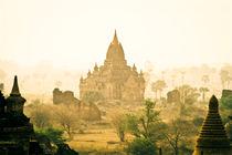 Temples in Pagan, Burma (Myanmar) by ingojez