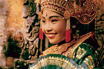 Girl dancer in Bali, Indonesia by ingojez
