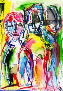 Between femme I by Doreen Schmidt