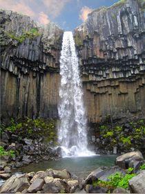 Wasserfall Svartifoss - ein Naturwunder von Marita Zacharias