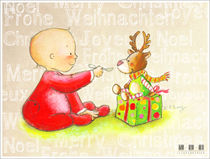 Merry Christmas Baby von sarah-emmanuelle-burg