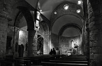 Church of the Assumption of Mary in Bossos - BW von RicardMN Photography