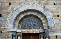 Church of the Assumption of Mary in Bossost - Portal  von RicardMN Photography