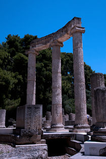 Ancient Olympia - Greece by Gillian Sweeney