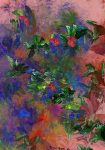 Floral Fantasy 010413 by David Lane