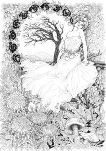 Allegory of Autumn von Alicja Jaczewska