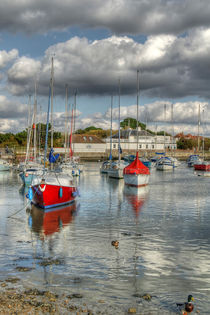 Hill Head Harbour von David Tinsley