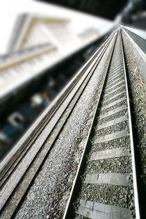 classicistical railway station  by David Castillo Dominici