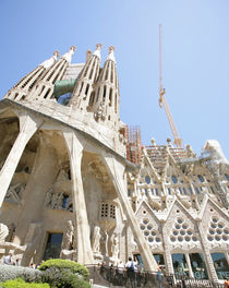 Sagrada Familia by Antoni Gaudi in Barcelona Spain von David Castillo Dominici