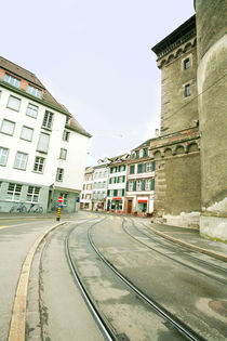 street of european town  by David Castillo Dominici