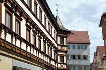 Mittelalterliches Patrizier Haus Esslingen by Yven Dienst