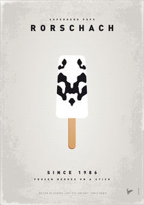 My SUPERHERO ICE POP - Rorschach von chungkong