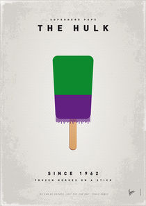 My SUPERHERO ICE POP - The Hulk von chungkong