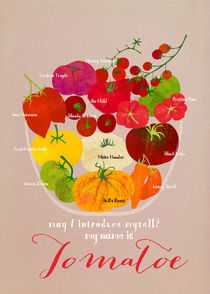 Heirloom Tomatoes by Elisandra Sevenstar