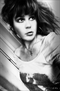 Kein Verzeihen - self portrait von Nicole Frischlich