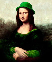 St Patrick's Day - Lucky Mona  by gravityx9