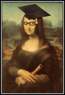 Mona Lisa 's Graduation by gravityx9