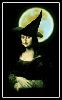 Mona Lisa, Witchy Woman by gravityx9