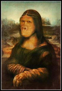 Mona Rilla (Mona Lisa Gorilla) von gravityx9