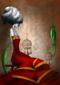la robe rouge von Sibylle Dodinot