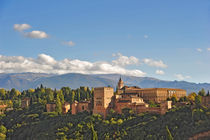 Blick auf die Alhambra, Granada by ralf werner froelich