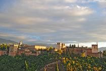 Granada-abendsonne