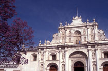 ANTIGUA CATHEDRAL Guatemala by John Mitchell