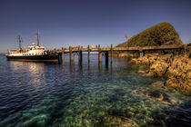 The MV Oldenburg at Lundy Island by Rob Hawkins