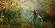 Die Muse der Natur, Lady of the forest. by Marie Luise Strohmenger