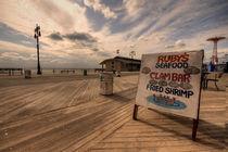 Boardwalk on Coney Island  by Rob Hawkins