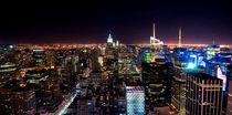 Manhattan by night von Rob Hawkins